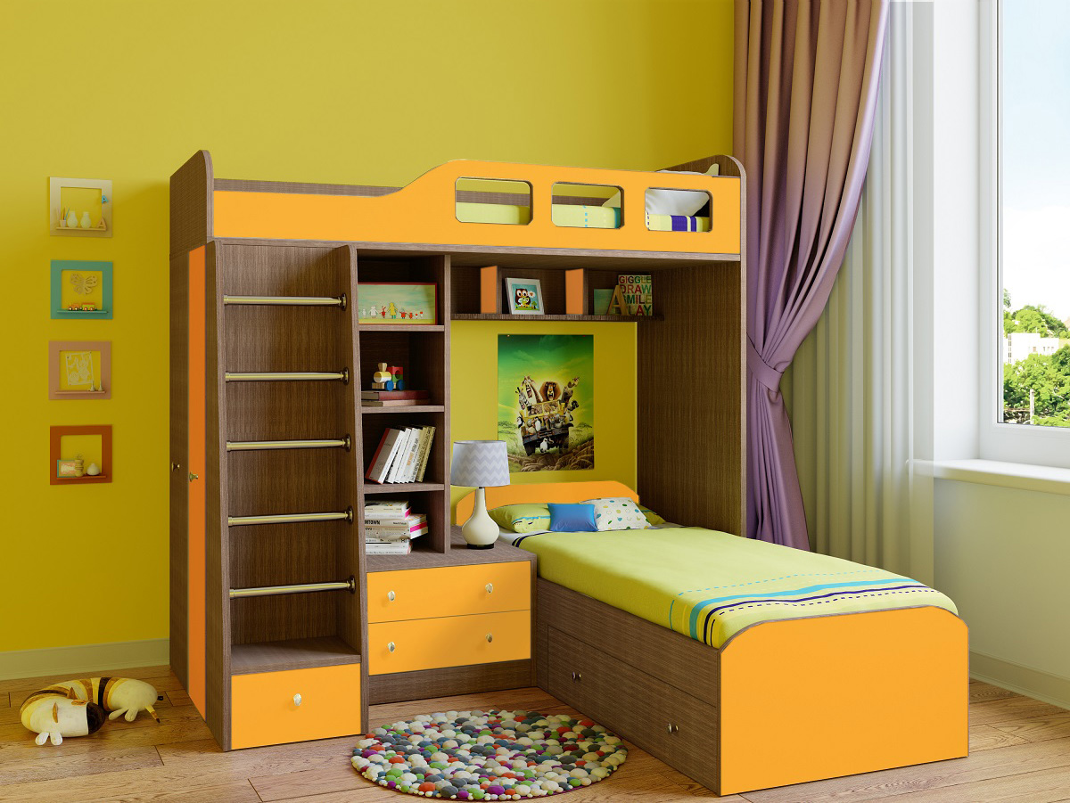 Двухъярусная кровать 150-92406