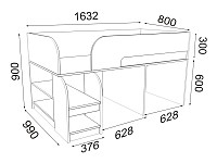 Кровать 500-104621