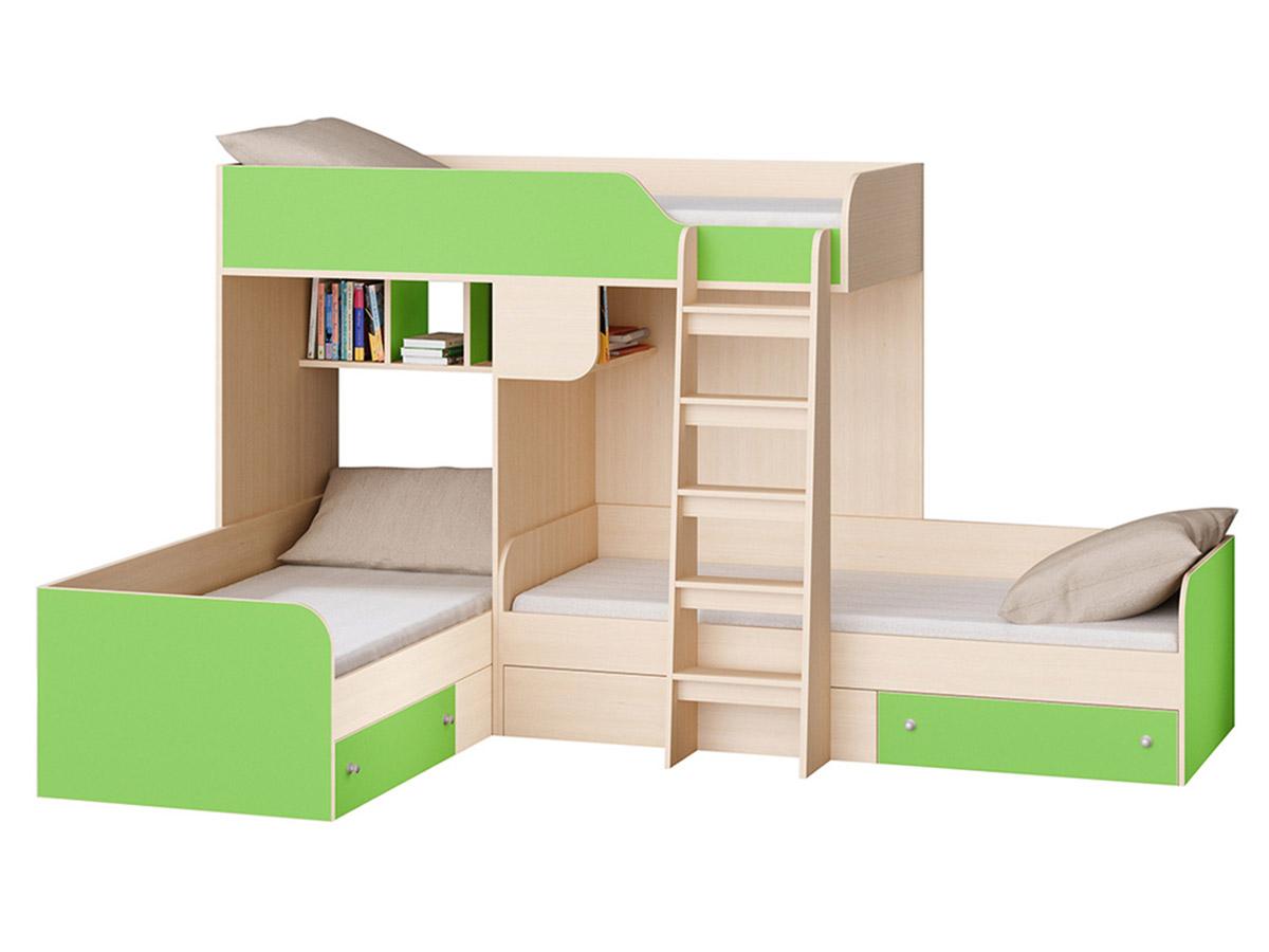 Двухъярусная кровать 150-104598