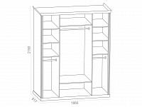 Шкаф 500-125205