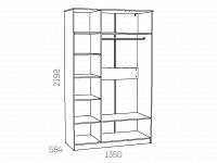 Шкаф 500-122198