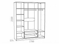 Шкаф 500-122293