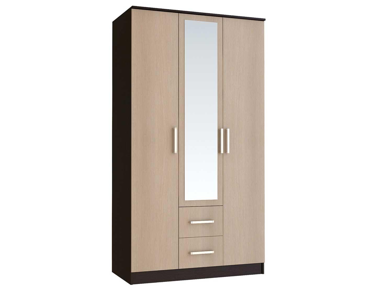 Распашной шкаф с зеркалом 150-65949