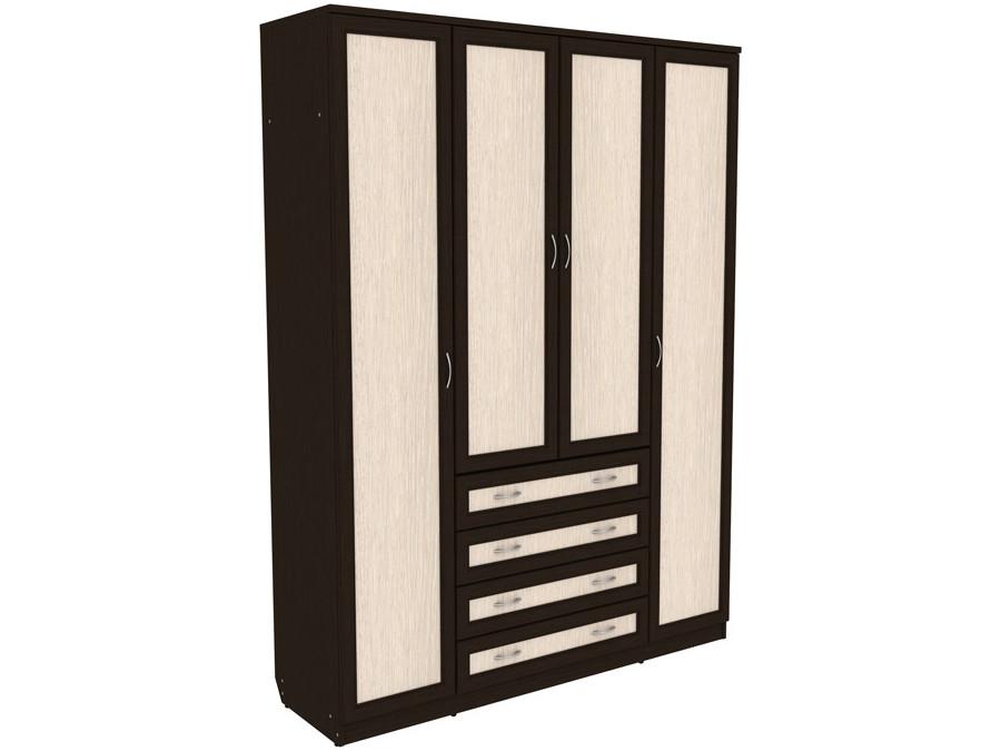 Распашной шкаф с ящиками 108-70263