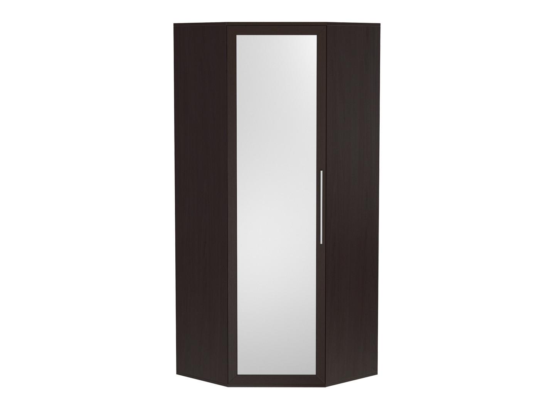 Угловой распашной шкаф с зеркалом 150-67736