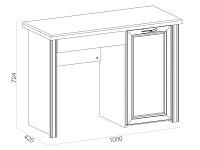 Письменный стол 500-119368