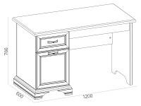 Письменный стол 500-119366