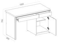 Письменный стол 500-119343