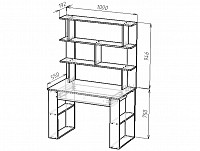 Письменный стол 500-110510
