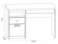 Письменный стол 500-119362