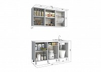 Кухонный гарнитур 500-85495