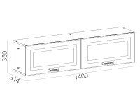 Навесной шкаф 500-123576