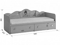 Кровать 500-123996