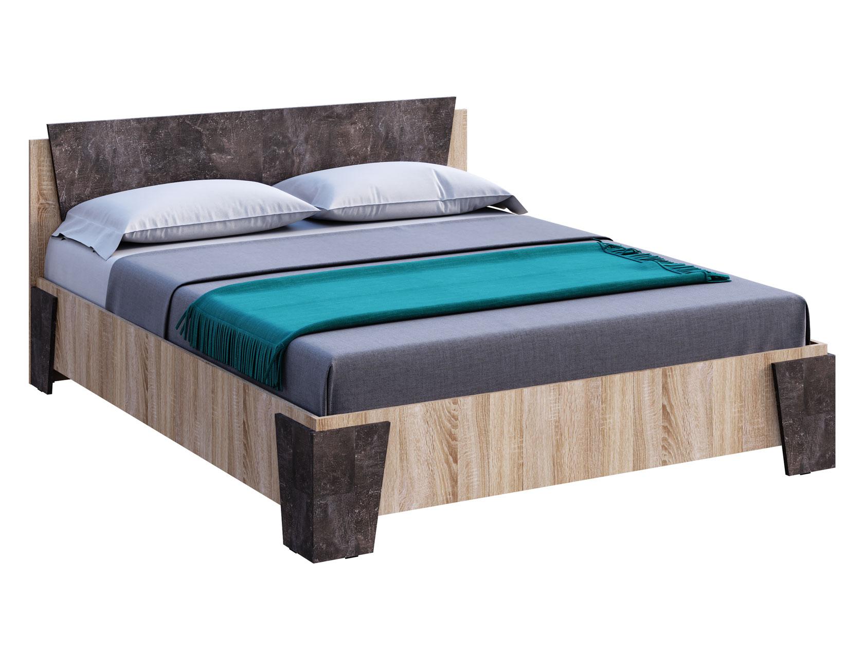 Двуспальная кровать 150-101155