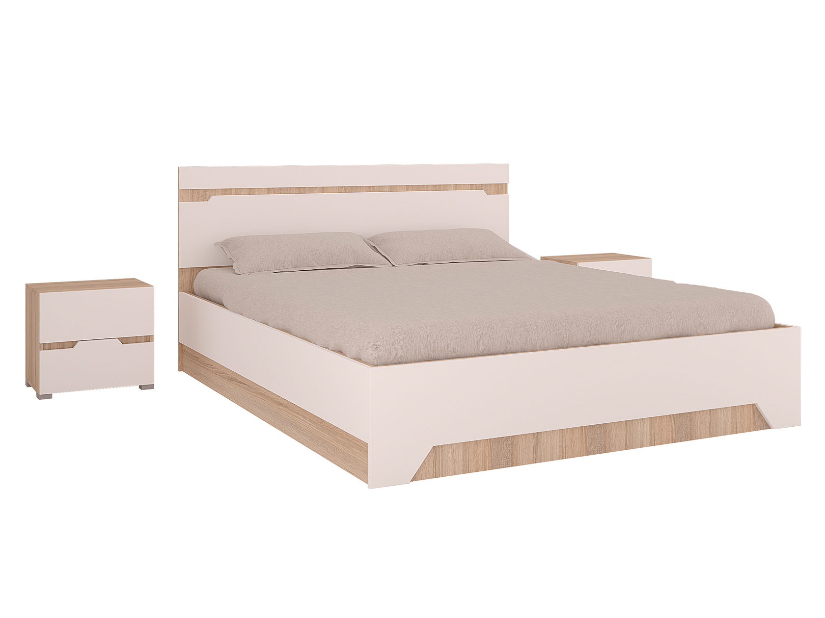 Двуспальная кровать 108-92879