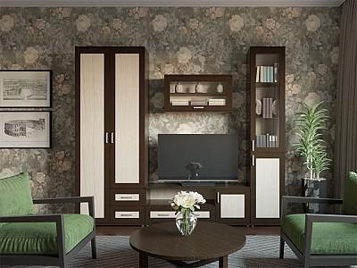 Стенка в гостиную 500-112712