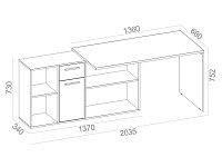Письменный стол 500-92908
