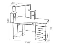 Стол 500-66005
