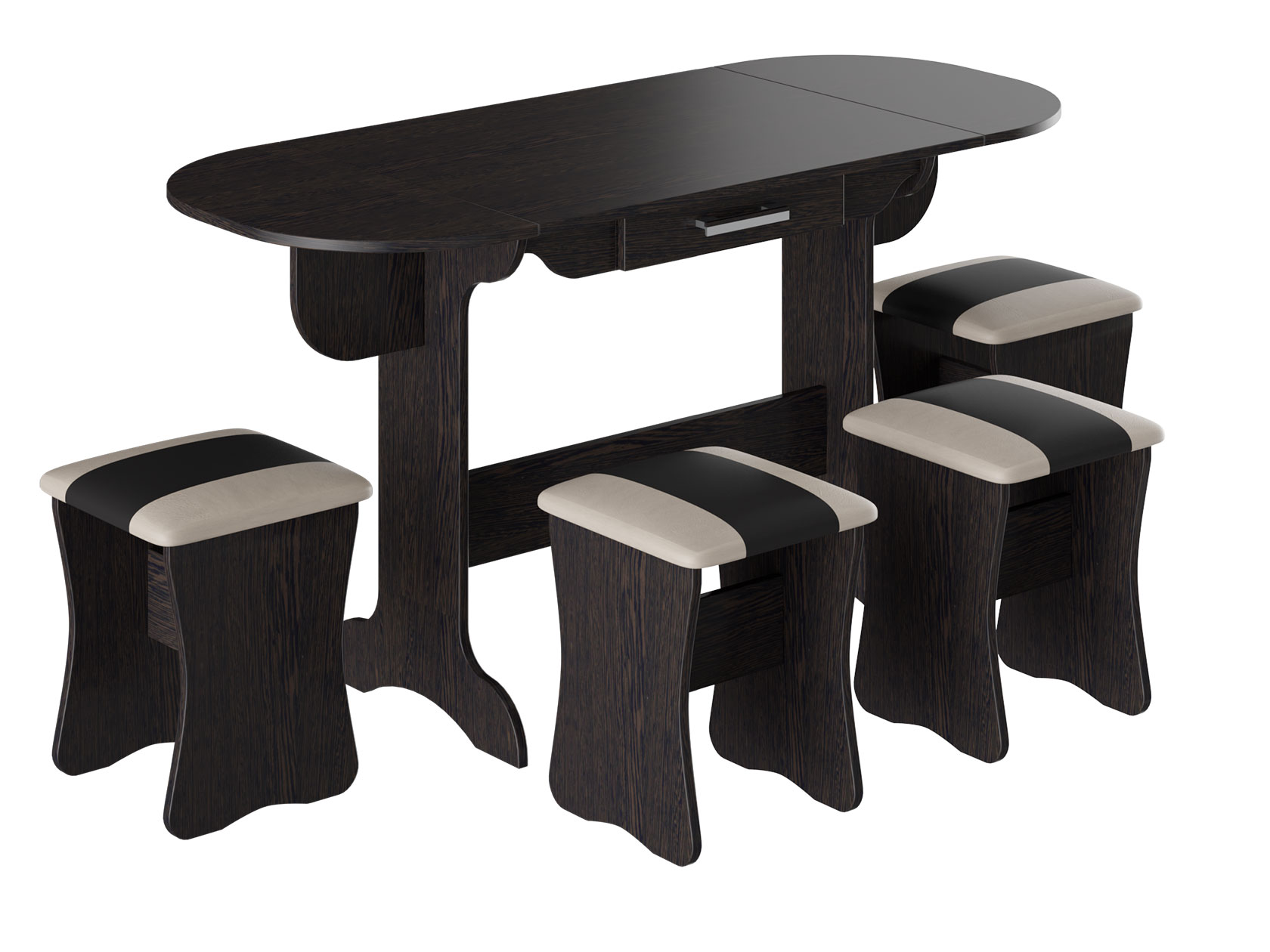 Обеденная группа для столовой и гостиной 150-113072