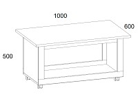 Стол 500-96127