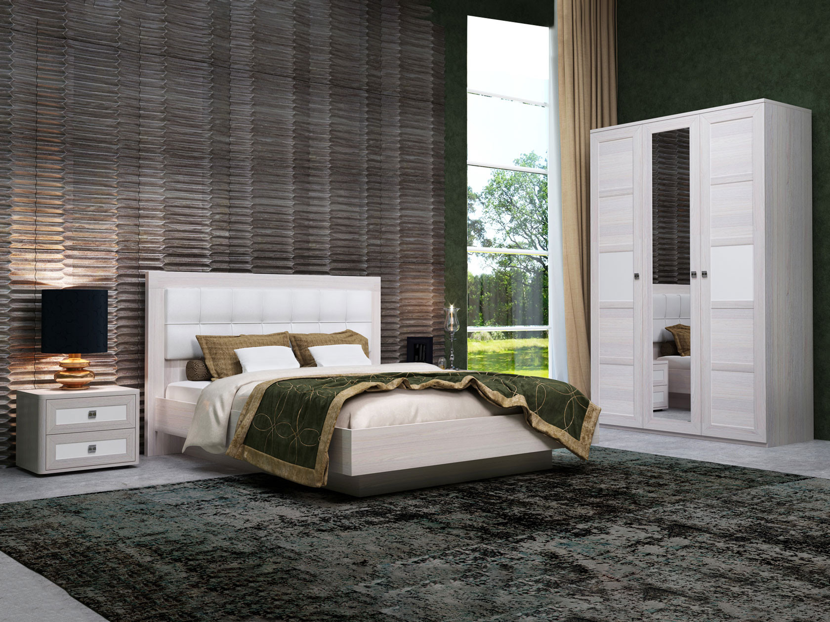 Спальный гарнитур 108-108067