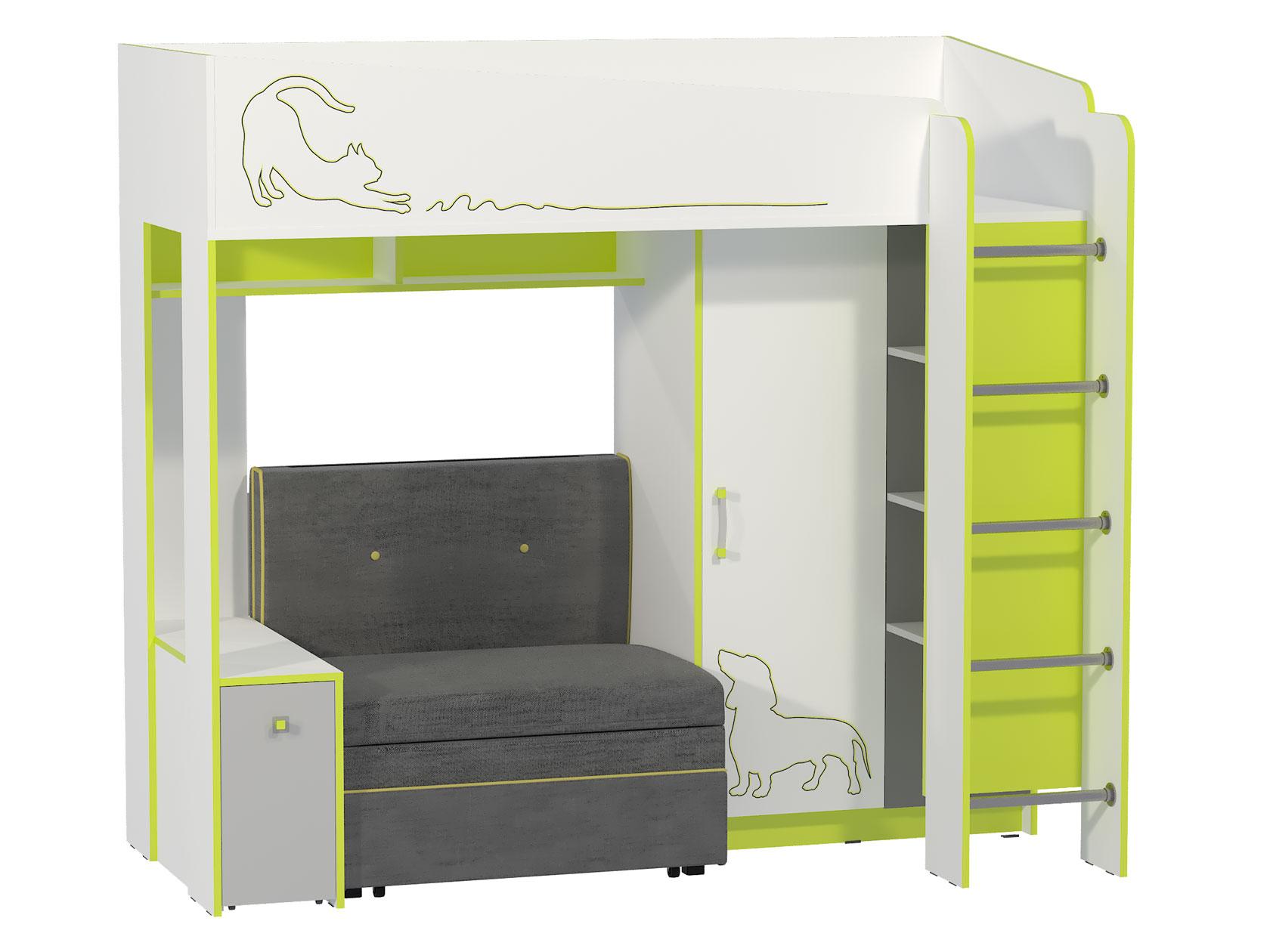 Кровать-чердак 150-120268