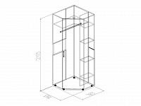 Шкаф 500-62056