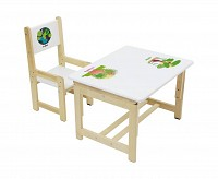 Стол и стул 170-84957