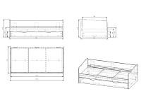 Набор мебели 500-102838