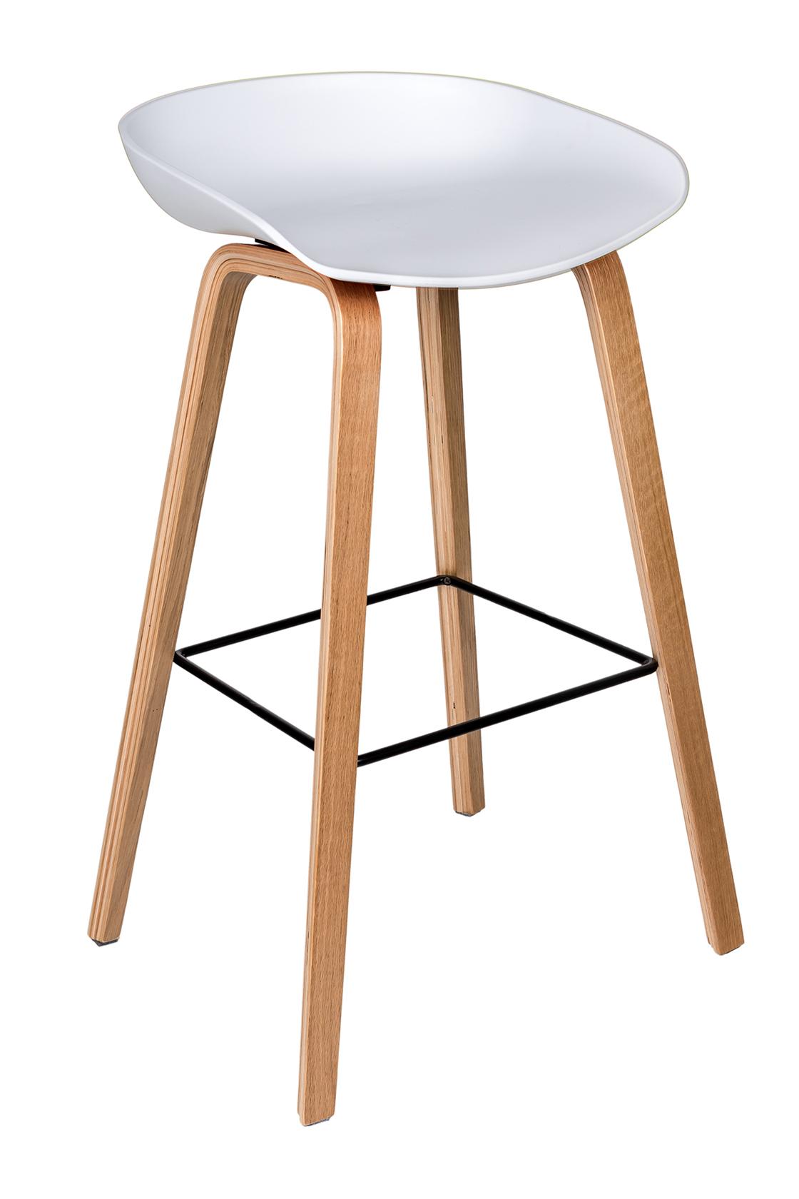 Пластиковый барный стул 150-74170