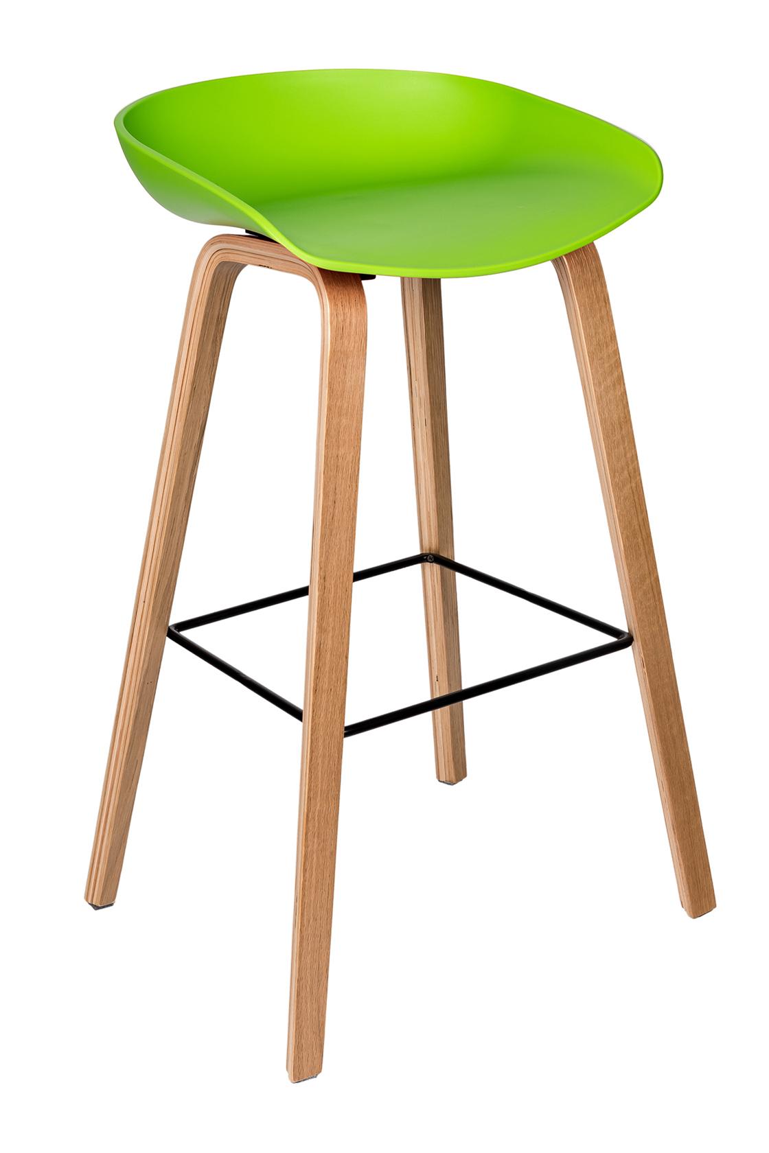 Пластиковый барный стул 150-74171