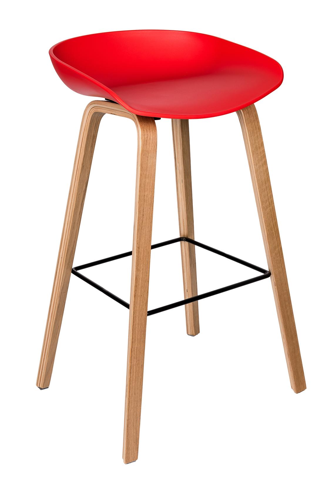 Пластиковый барный стул 150-74172