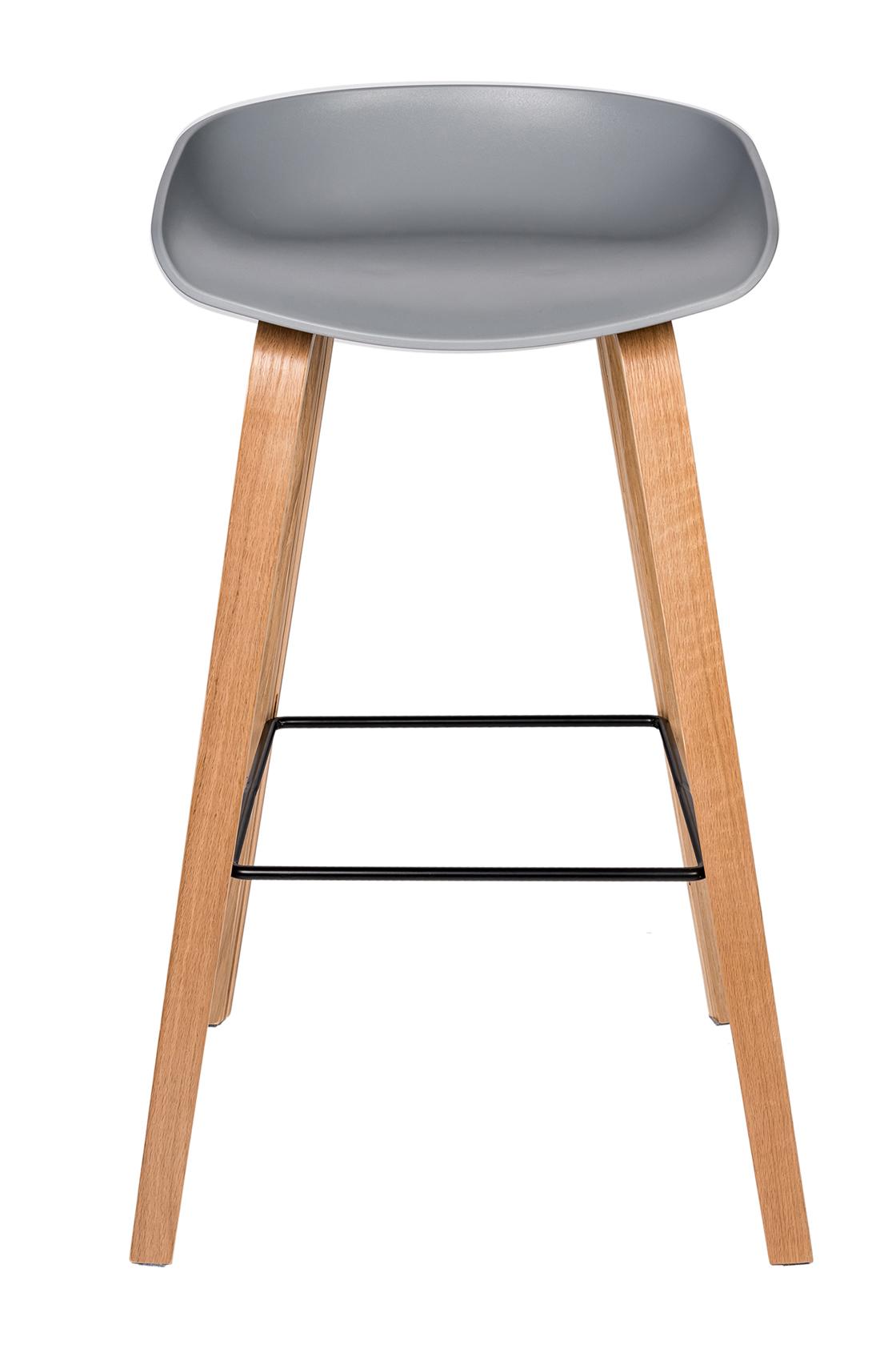 Пластиковый барный стул 108-74173
