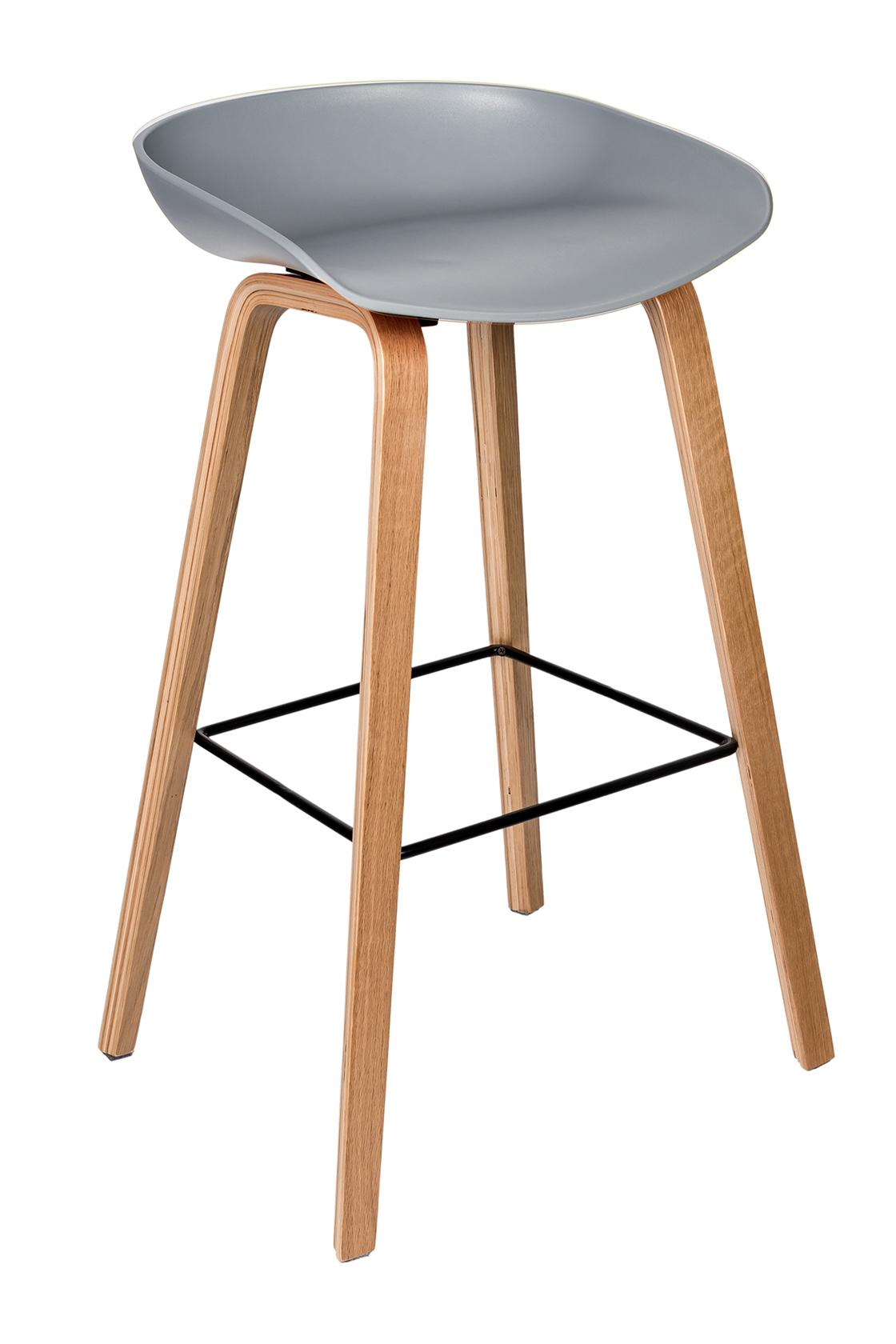 Пластиковый барный стул 150-74173
