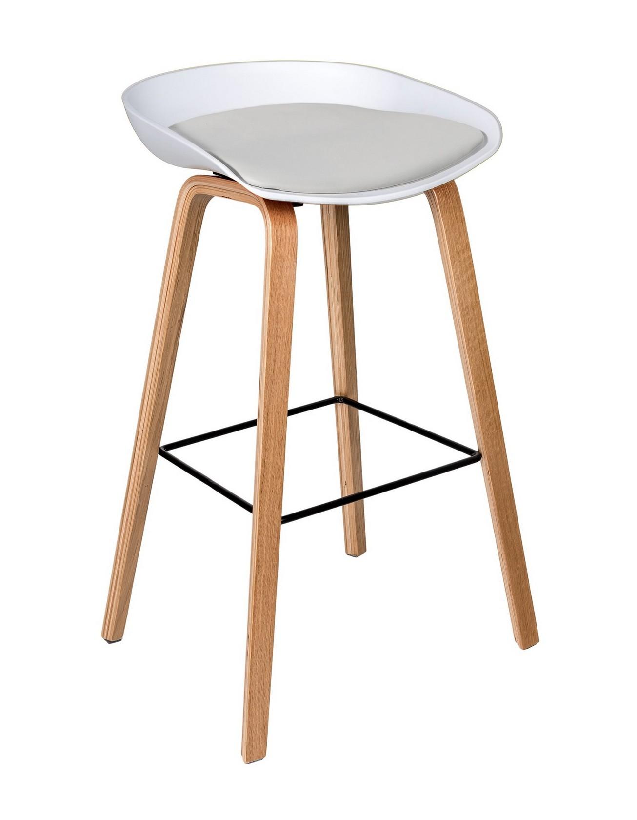 Барный стул со съемной подушкой 150-85906
