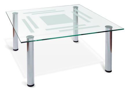 Стол журнальный со стеклом 190-1455