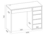 Письменный стол 500-51463